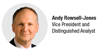 Andy Rowsell Jones, Gartner analysts, digital transformation