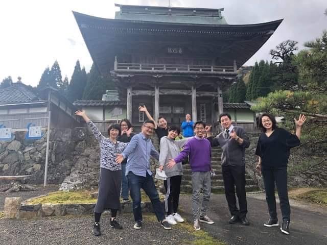 大成寺での坐禅体験