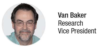 Van L. Baker Research VP for Gartner, Inc