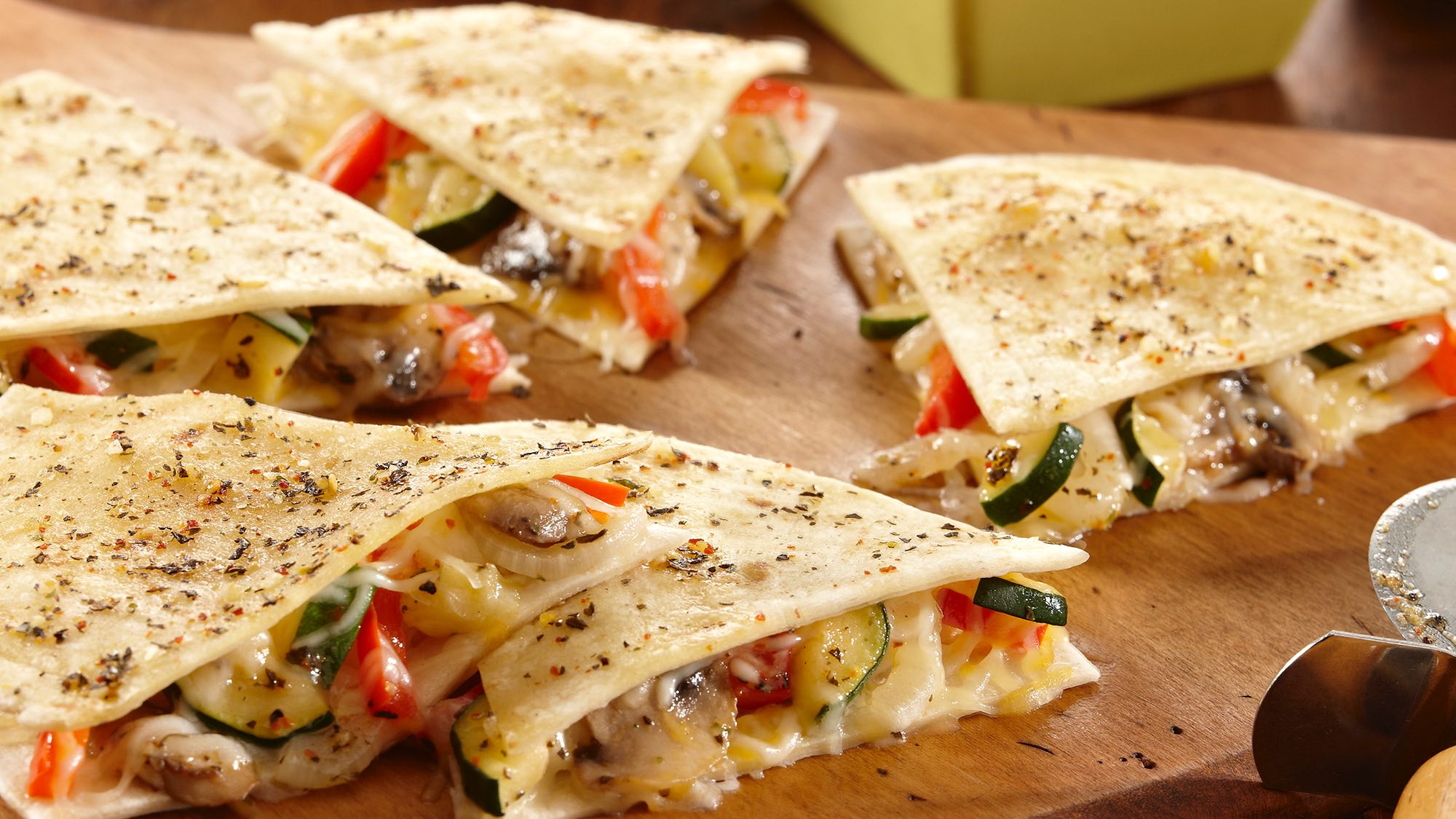 Easy Vegetable Quesadillas