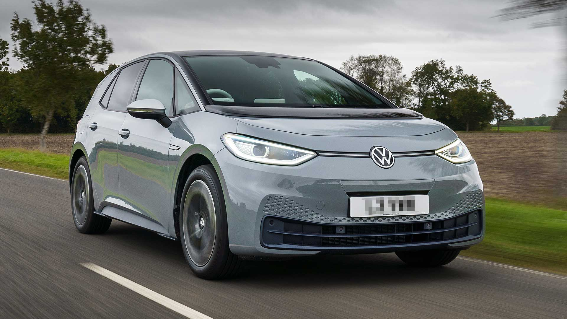electric volkswagen EV 2021