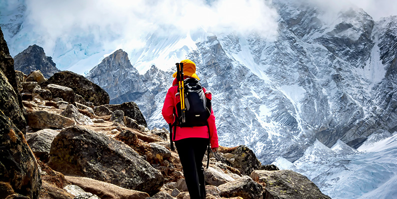 Custom Content - Healthy lifestyle: outdoor hiking