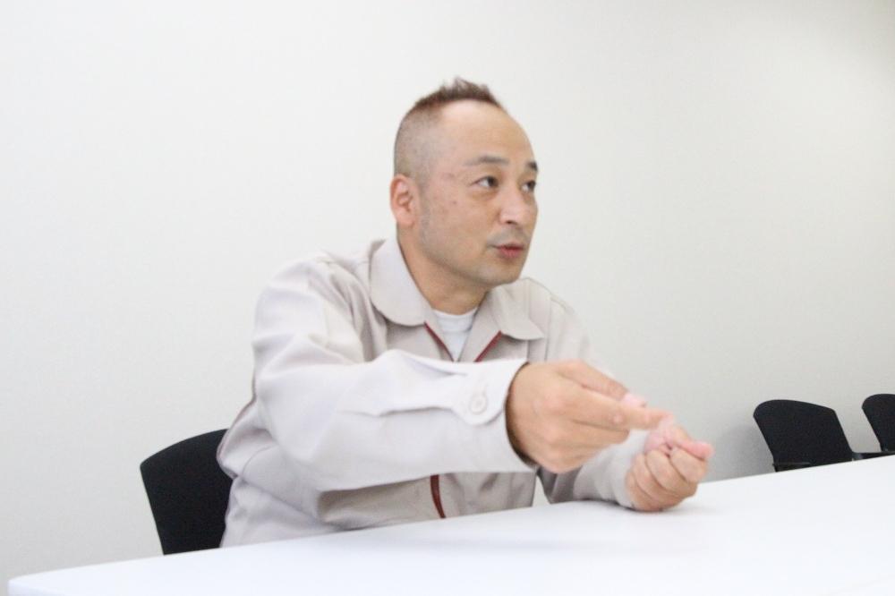 東芝 府中事業所 鎌田英昭氏