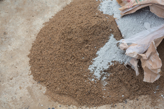 Use durable and waterproof materials, such as water repellent cement