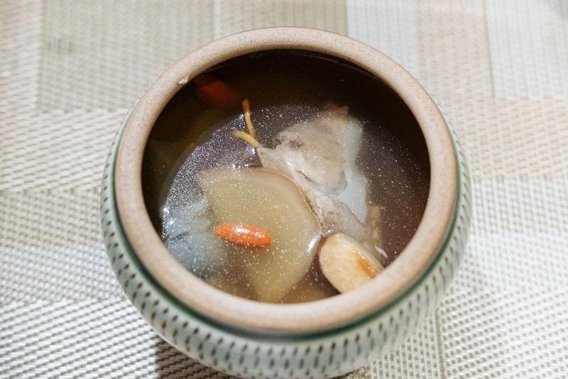 スッポンを使ったスープ