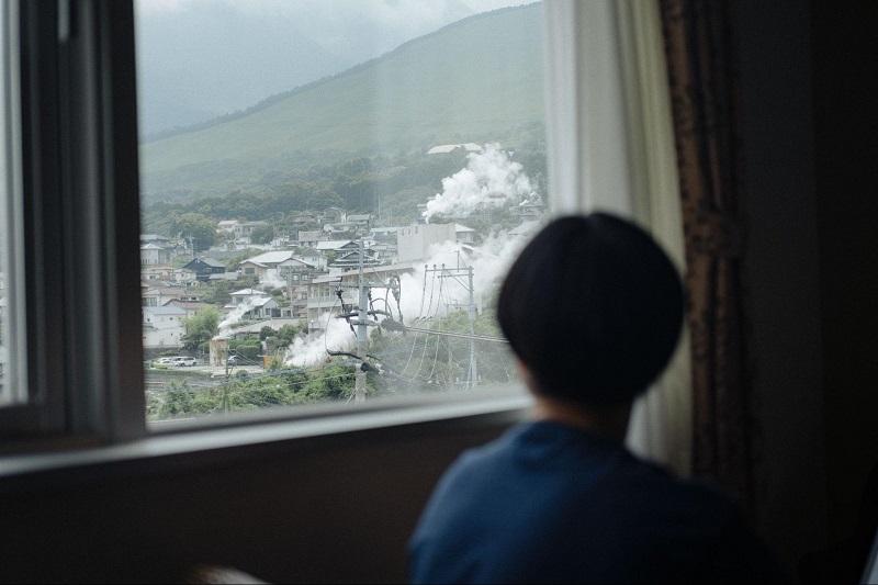 杜の湯リゾート:部屋から見える景色