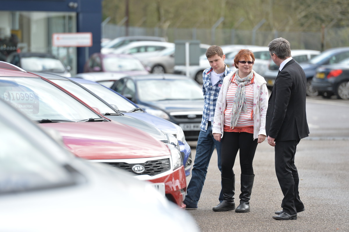 Dealers can advise on the biggest car boots available