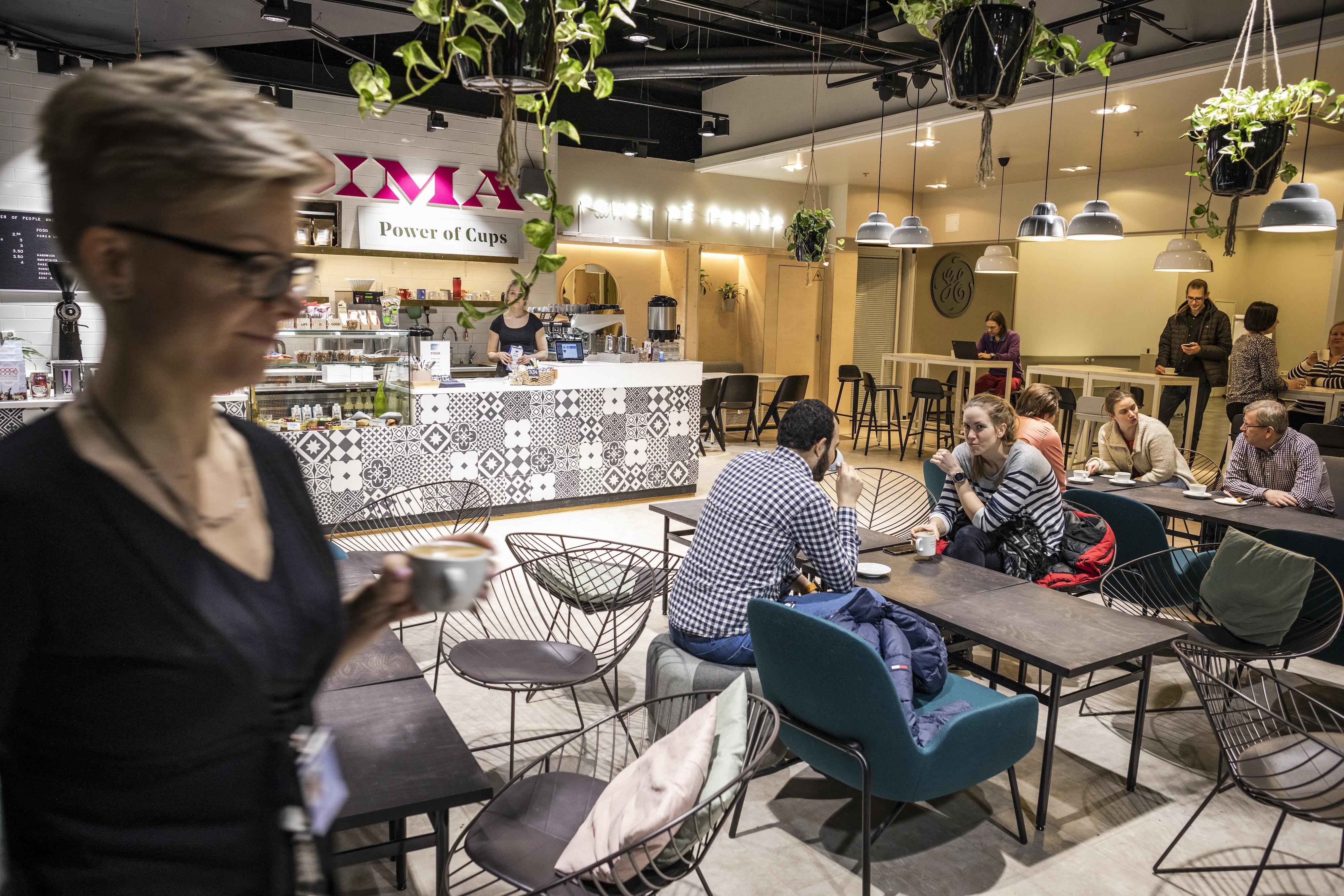 GEHC Helsinki Voima cafe