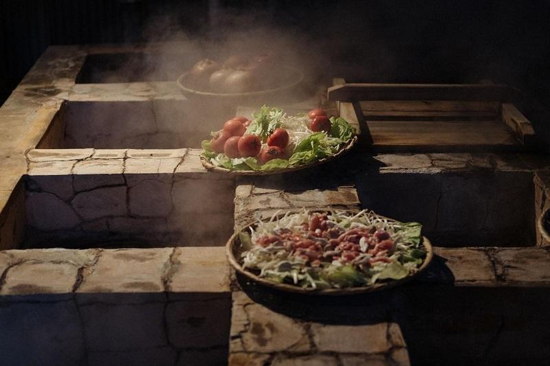 野菜や豆腐、お肉も地獄蒸しをすることで、味に深みが出ます