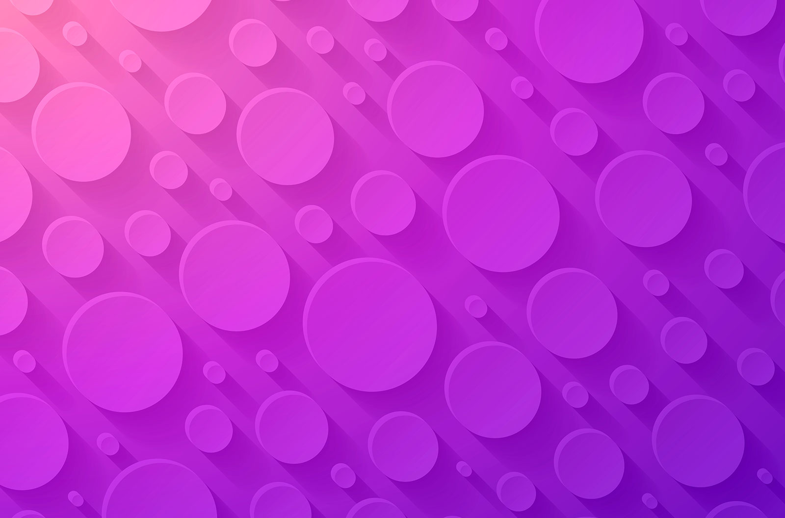 Abstract purple background with bubble texture vector background