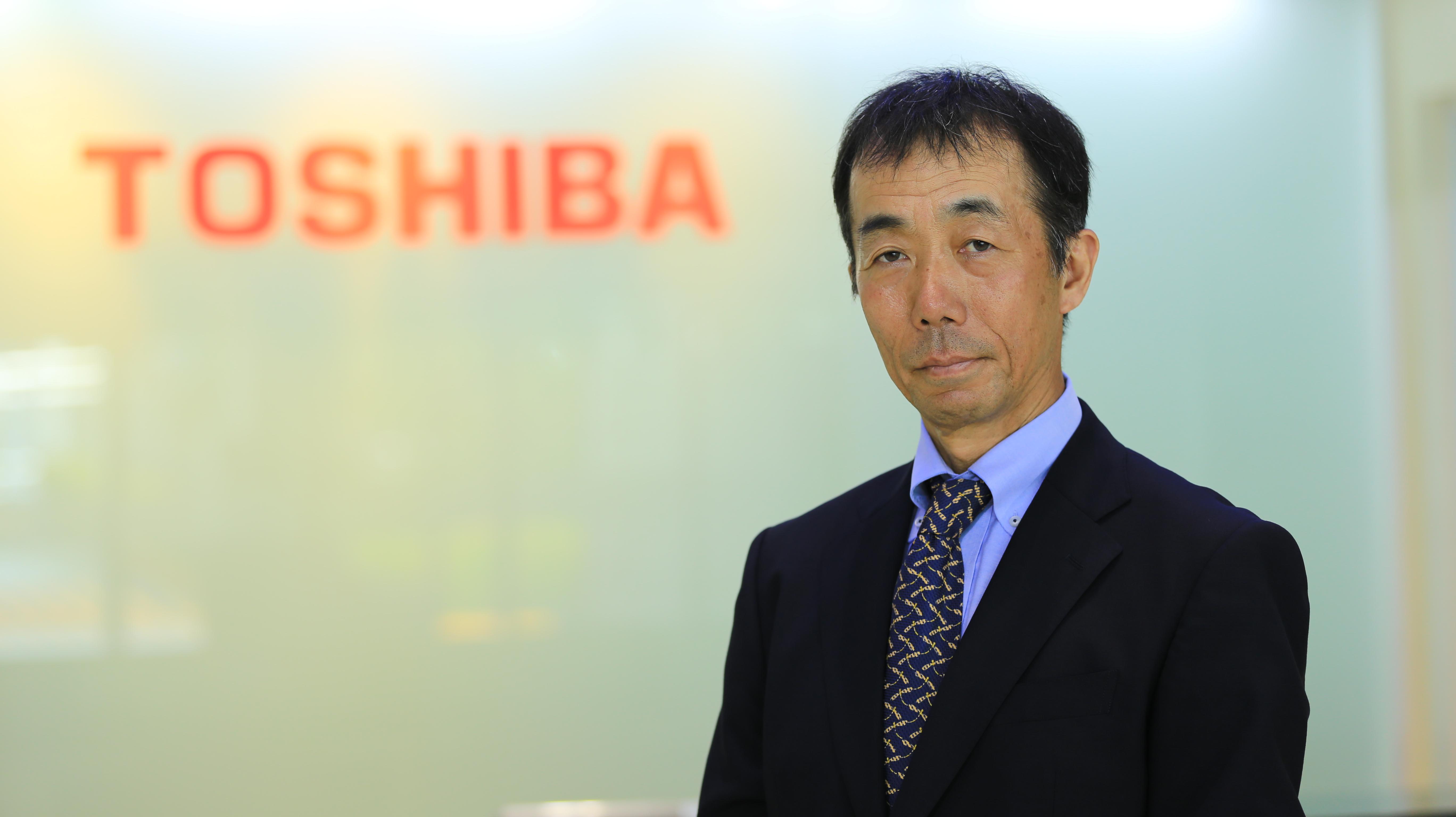 Hiroshi Okamura, President, Toshiba Information Equipment (Philippines), Inc.