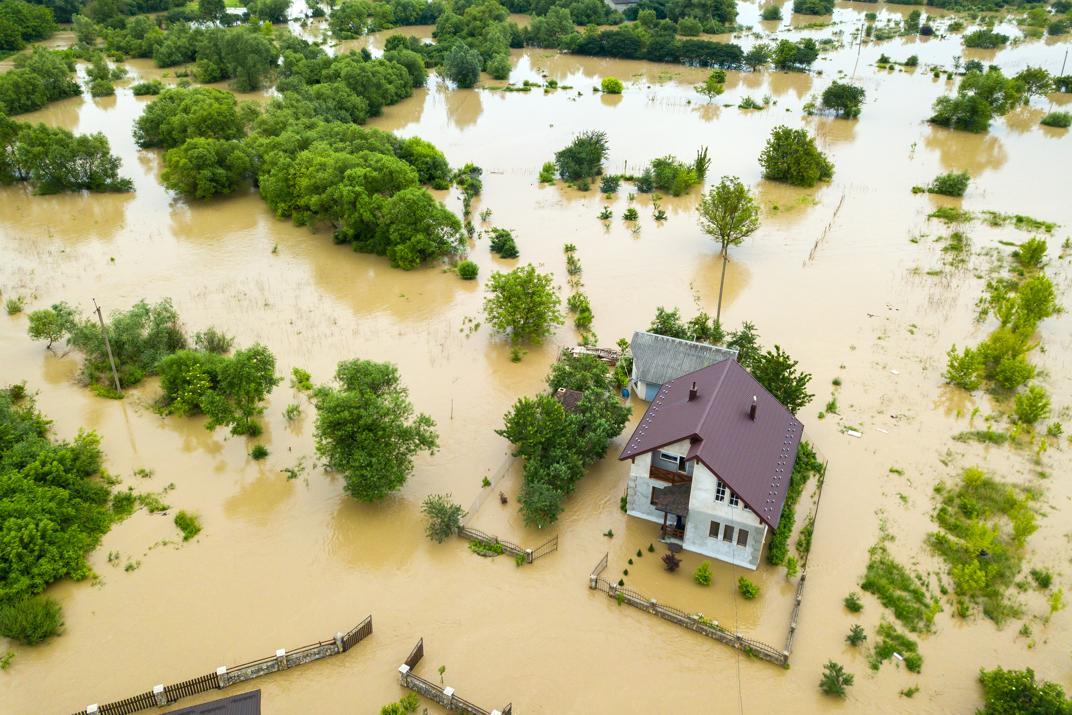 Use geohazard maps to double-check if your lot is located in the flood zone