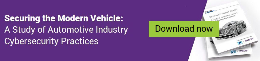 Study of automotive industry cybersecurity practices | Synopsys