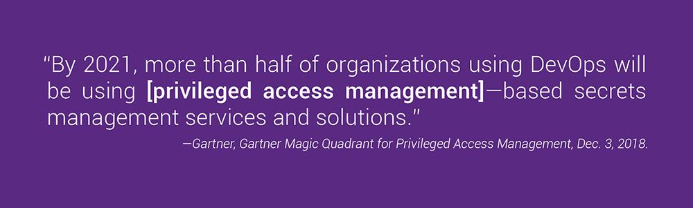 Gartner Magic Quardrant for Privileged Access Management   Synopsys
