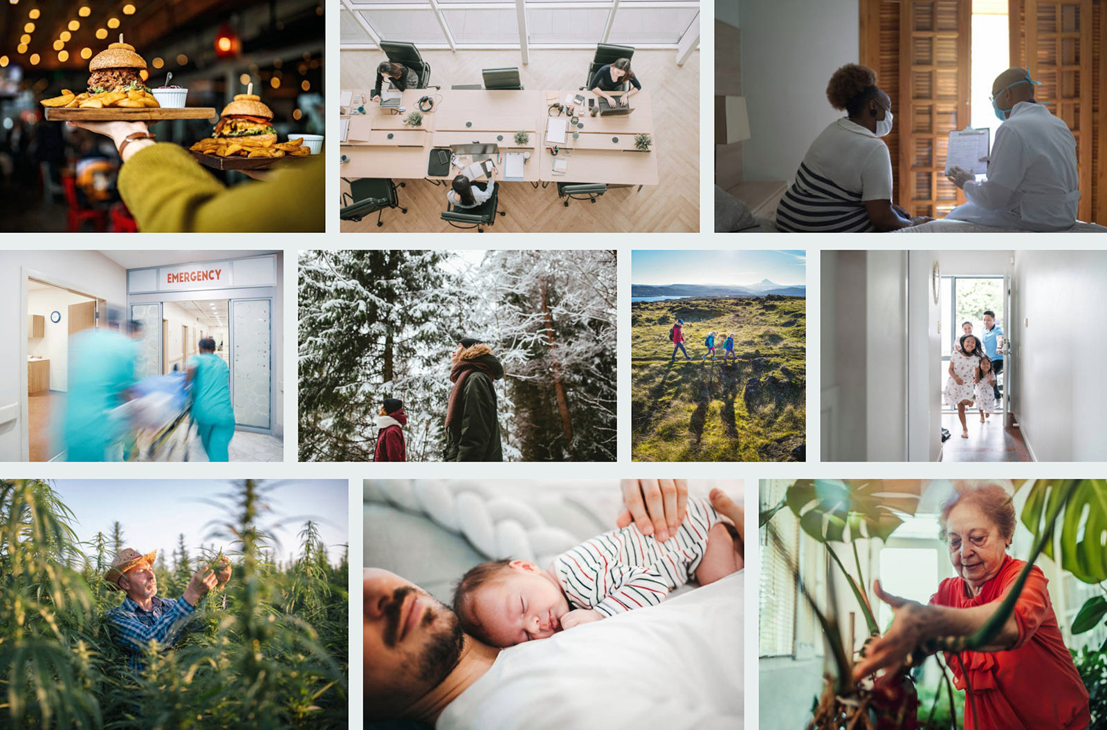 Photo collage from the Images We Love iStock Board