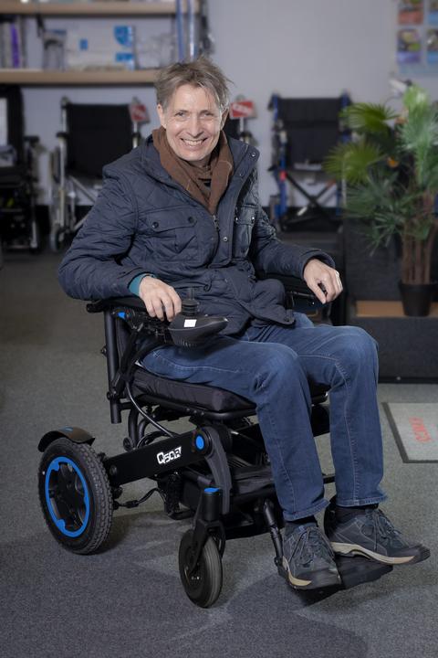 Sunrise Medical Quickie Q50 R powered wheelchair