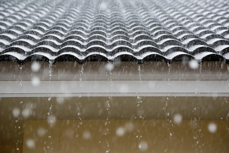 Rain on the roof