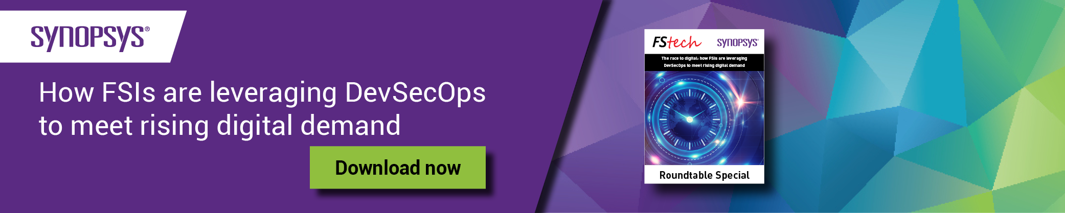 eBook: How FSIs leverage DevSecOps to meet rise of digital demand   Synopsys