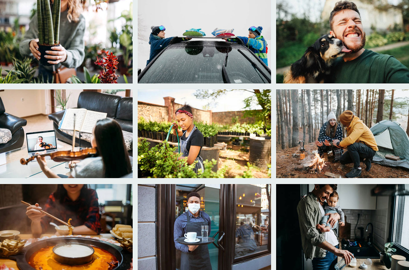 """iStock curated image board called """"Images We Love"""""""