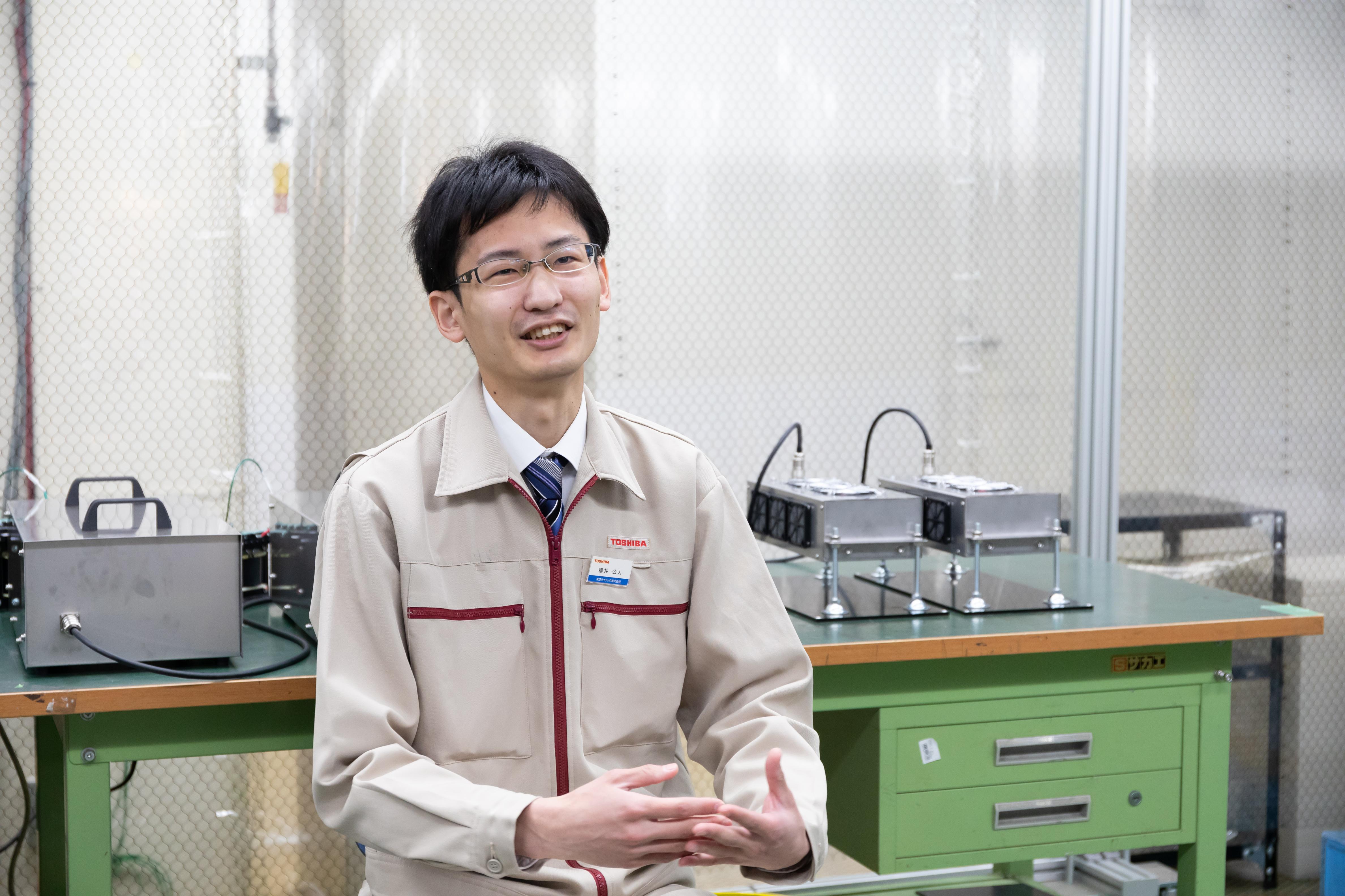 東芝ライテック株式会社 UV技術開発部門 櫻井 公人氏